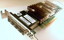 LSI SAS9206-16e SAS HBA ADAPTER 4 EXTERNAL 8644 6Gb/s SAS2 SATA3 1V1W2 TFJRW
