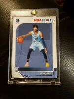 2019-20 PANINI NBA HOOPS JA MORANT ROOKIE CARD #259 RC GRIZZLIES Mint