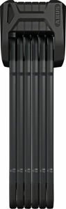 Abus Bordo Granit XPlus 6500/110 Folding Lock Black *Damaged Packaging*