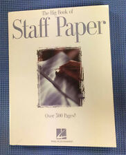 The Big Book of Staff Paper - 12 Staff - Music Notation guide - 512 Pages!