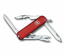 Victorinox Swiss Army Rambler Pocket Knife Multi-Tool, Red