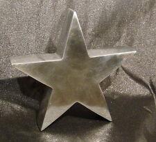 Stern 20cm, Aluminium poliert
