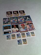 Charles Hudson:  Lot of 150+ cards.....28 DIFFERENT / Baseball