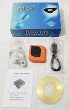 New Digital Mp3 Media Player Set Earphones, Usb Cable, Driver Disc Manual Bundle