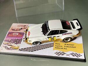 NEW 1 43 PORSCHE 911 N 26 PILOTE JP ROUGET RALLY WRC MONTE CARLO 1978