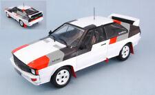 Audi quattro group b car 1982 1:18 auto rally scala ixo model