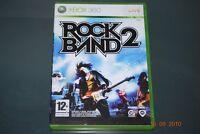 Rock Band 2 Xbox 360 UK PAL **FREE UK POSTAGE**