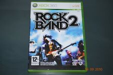 Rock Band 2 Xbox 360 PAL Reino Unido ** ** GRATIS UK FRANQUEO