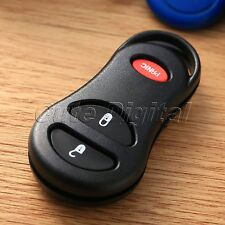 3 Buttons Keyless Remote Key Fob Shell Case Clicker for Chrysler Jeep 56045497