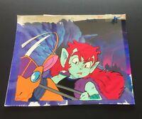SHIN BIKKURIMAN - DIO COCKNEY - layered anime cels #42 Toei Animation ~Ray Rohr