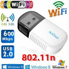 Ezcast Wireless USB WIFI Adapter 5G/2.4G Bluetooth4.2 Dual Band 600Mbps 802.11ac