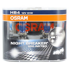 OSRAM NIGHT BREAKER UNLIMITED-mise à niveau Phare Ampoule-HB4-Twin Pack