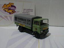 """Brekina 48529 - Mercedes Benz LP 608 Pr./Pl. """" Schenker Messeservice Hannover """""""