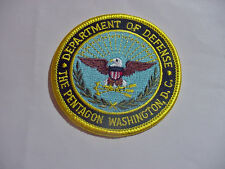 set of 2 department of defense - the pentagon washington dc patch
