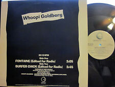 "► Whoopi Goldberg - 12"" Fontaine b/w Surfer Chick (Geffen) (Promo) ('85)"