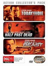 Seagal Pack DVD 3-Disc Set Today You Die Half Past Dead Beast New and Sealed