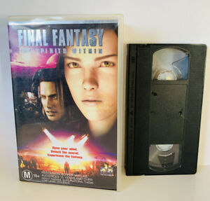 FINAL FANTASY The Spirits Within VHS Video M15+ Rating 2001 FREE POSTAGE