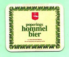 sous-bock HOMMEL BIER  bierdeckel coaster bierviltje beermat sb1356