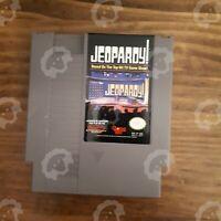 Jeopardy! ( Nintendo NES ) Cartridge - Tested