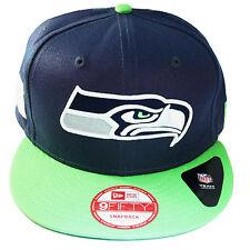 New Era NFL Seattle Seahawks Classic Snapback Hat 2tone Color Cap