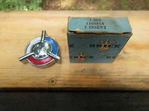 New NOS 1957 Buick emblem badge 1 166814 Insert  25543  1166814  1955 1956 1958