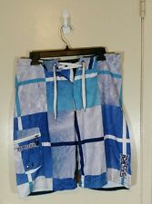 Rip Curl Board Shorts Swimming Trunks Surf Blue  Mens Size 30