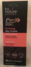 By Nature Purifying Day Creme Rice Protein & Green Tea Extract  2.5 oz  75 g