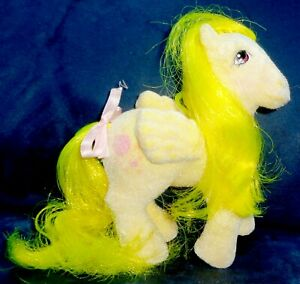Rose: My Little Pony Vintage So Soft SS Pegasus Lofty #2 EXCELLENT G1