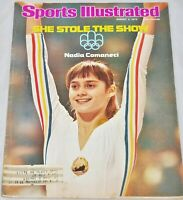 Sports Illustrated - She Stole the Show, Nadia Comaneci - Aug. 2, 1976