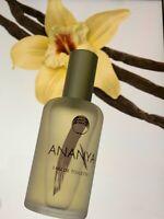RARE!! THE BODY SHOP EAU DE TOILETTE edt ANANYA SPRAY 55 ml left  women perfume