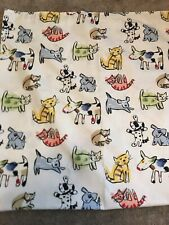 Spring Home DOGS & CATS Fabric Shower Curtain Bath Child Decor-Child's Bathroom