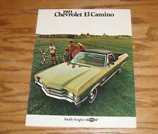 Original 1971 Chevrolet El Camino Sales Brochure 71 Chevy