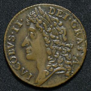 1689 August, Ireland, James II Gunmoney Shilling, S6581B, TB12C-1G, W18/17
