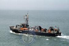 Belgian Navy Inshore Minesweeper BNS VISE (M482) - 6X4 (10X15) Photograph