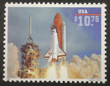 #2544a  Shuttle Endeaver High Value USA Express Mail Stamp 1995 Retail $36.75