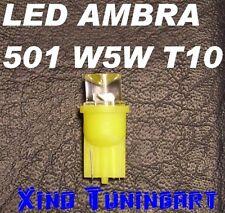 Lampadine LED AMBRA GIALLI T10 INVERTITI W5W per frecce,targa,interni.plafoniere