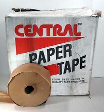 "10 New Central K2800 Carton Sealing Paper Tape Rolls 3""x600' Nib *Make Offer*"