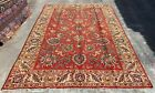 Authentic Hand Knotted Vintage Tabreez Wool Area Rug 9 x 7 FT (20063 HMN)