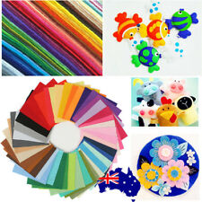 40pcs Acrylic Blend Felt Non-woven Fabric Mix Color Craft Quilting 30*20cm ON