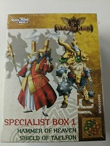 COOL MINI OR NOT Wrath of Kings House Shael Han Specialist Box #1 2 WOK03006 New