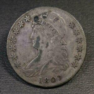 1807 Capped Bust Half Dollar FINE