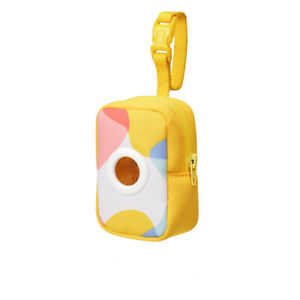 Dog poop bag With Pouch outdoor pet stool collection bag degradable bags Yellow