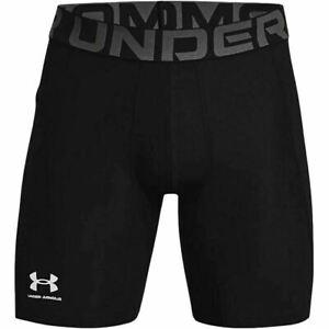 Under Armour Mens UA HeatGear Performance Baselayer Compression Gym Shorts