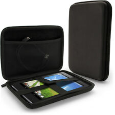 "Black EVA Hard Travel Case for ALCATEL OneTouch PIXI 3 (8"") Protective Cover"