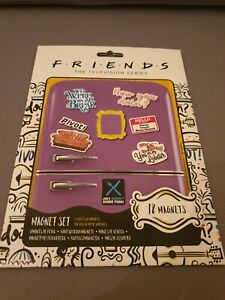 Officially Licensed Friends TV Series 18 X Fridge Magnet Set Magnets
