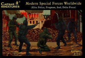 Caesar Miniatures 1/72 Modern Special Forces Worldwide # 061