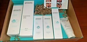 PROACTIV+ 90 DAY 3 STEP WHIPPED EXFOLIATOR ACNE SKIN REGIME STEP 1 2 3 boxed