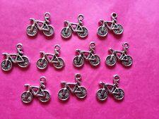 Bici/Ciclo De Plata Tibetana/encantos de Bicicleta - 10 por paquete