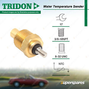 Tridon Water Temperature Gauge Sender for Ford F150 F250 F350 Fairlane ZJ ZK