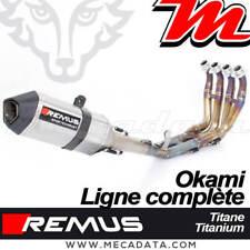 Ligne complète Pot d'échappement REMUS Okami Full Titane Yamaha YZF-R6 2017